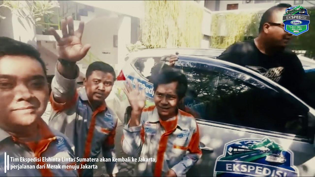 Tim #EkspedisiElshinta Lintas Sumatera Akan Kembali ke Jakarta