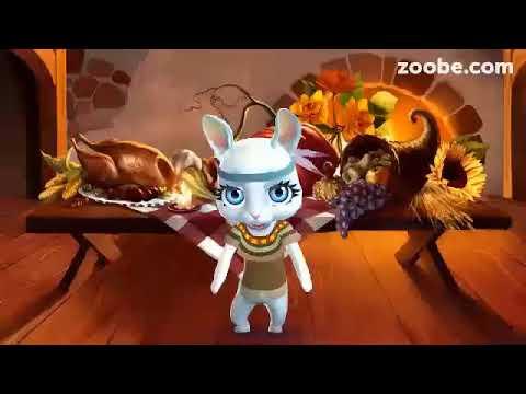Zoobe Зайка- доброе поздравления с Пасхой - Познавательные и прикольные видеоролики
