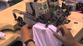 Yamato AZ8400/K2/TC/CH20 :: Complete Cylinder Bed Overlock Machine with Blind Hemming Guide thumbnail