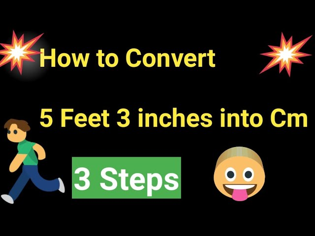 To cm inch a 3 Ways