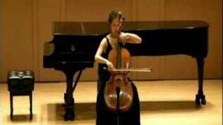 Meta Weiss Bach Cello Suite No 3 in C Major Prelude