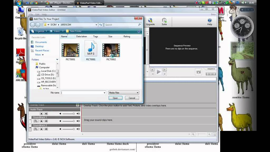 BROKEN VIDEO VEDA / R 28 - Noise reduction using WavePad and VideoPad NCH  software tutorial