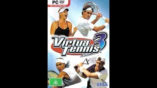 Pc gameplay - Virtua Tennis 3 - Tournament