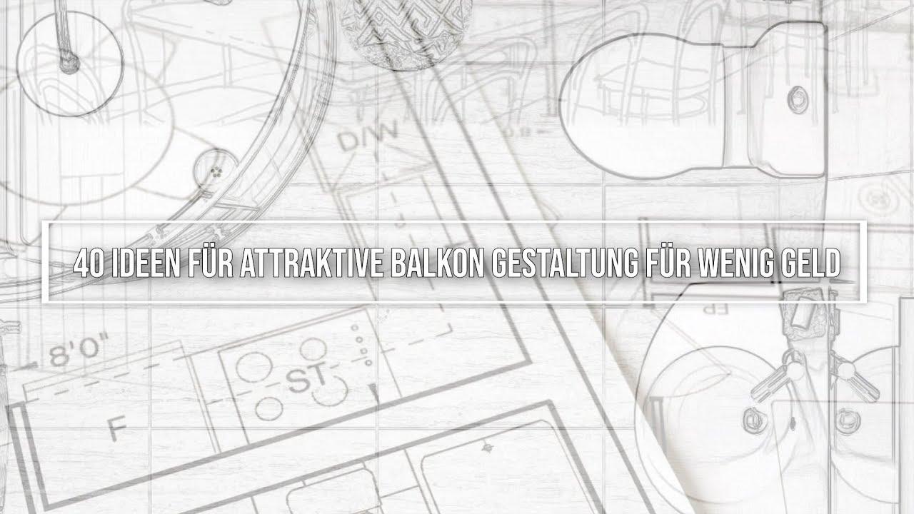 40 Ideen Fur Attraktive Balkon Gestaltung Und Deko Fur Wenig Geld