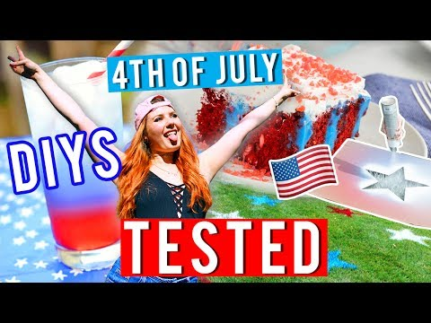 4th of July DIYS TESTED! | PINTRY