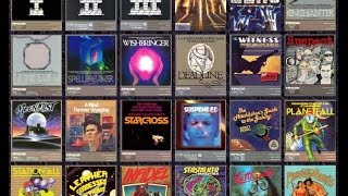Infocom interactive fiction game collection