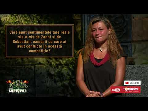 Download SURVIVOR | ELENA, PRIMELE REACTII LA CALD, DUPA ELIMINARE! CE A DEZVALUIT DESPRE ZANNI SI SEBASTIAN