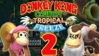 Let's Play Donkey Kong Country Tropical Freeze Part 2: Cranky und sein Krückstock