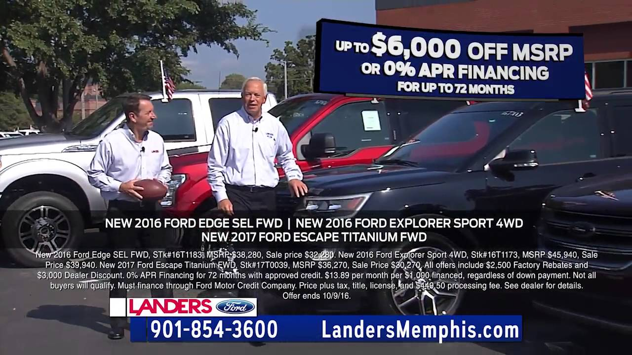 Landers Ford Benton Ar >> Landers Ford Lincoln Mercury In Benton Ar 501 315 4700