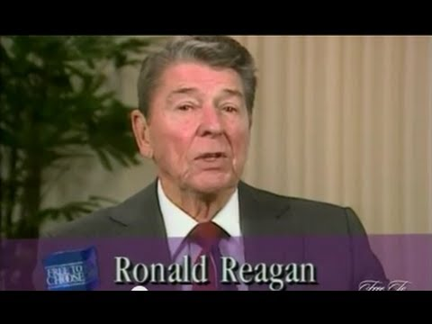 President Reagan on Dr. Friedman and Free To Choose