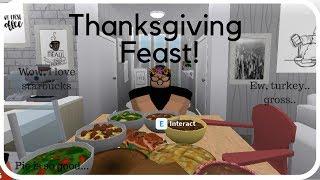 Roblox: Welcome to Bloxburg | Thanksgiving feastt!