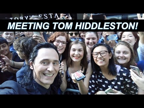 MEETING TOM HIDDLESTON