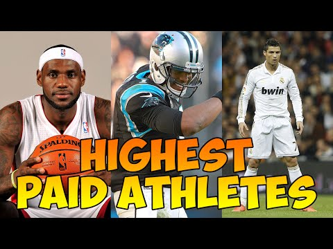 Highest Paid Athletes - Richest Athletes - Top Paid Athletes - Athletes With The Most Money