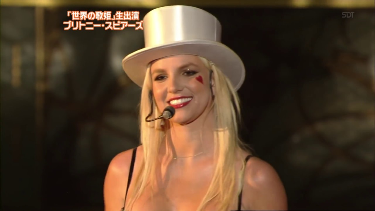 Britney Spears - Womanizer - LIVE NTV Best Artist Japan