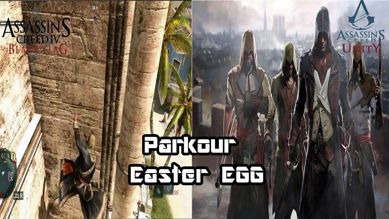Assassin's Creed 4 Black Flag - Parkour Easter Egg [AC ...