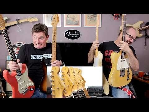 That Pedal Show Special – Real Vintage Fenders or our Reissu