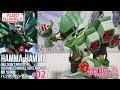 ガンプラ 「RE100 ハンマ・ハンマ ( AMX-103 HAMMA-HAMMA )」#02両腕の組立① / 機動…