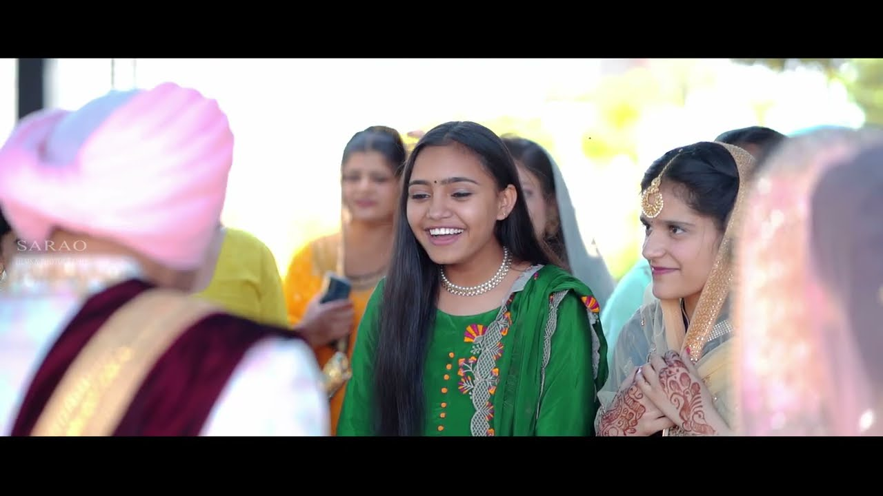 Download DACHI WALEYA  ( SIMRAT WEDS HARSUKHMAN ) CINEMATIC WEDDING HIGHLIGHT ( SARAO FILMS & PHOTOGRAPHY )
