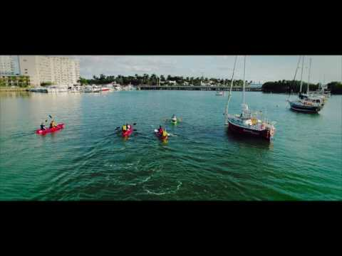 Miami Paddle and Kayak, North Bay Village by DreamXdrones
