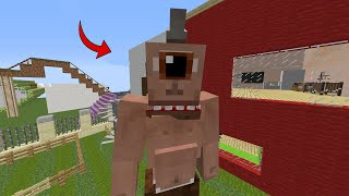 Cyclopes came to our city! - Minecraft