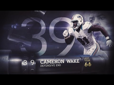 #39 Cameron Wake (DE, Dolphins) | Top 100 Players of 2015