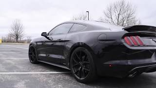 2015 v6 mustang w roush exhaust bbk shorty headers