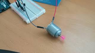 Arduino Uno 로 트랜지스터와 다이오드를 사용해…