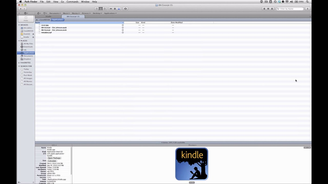 Converting EPUB to MOBI with Calibre