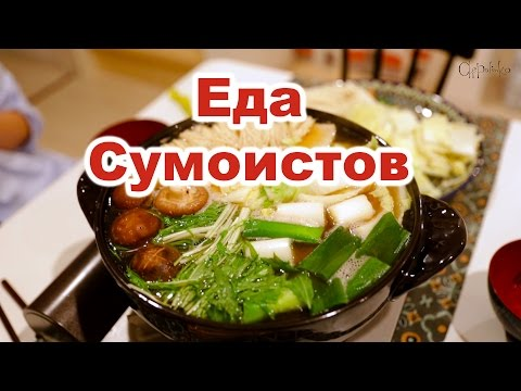 Блюда из живого осьминога. Японская кухня