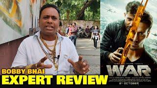 Bobby Bhai EXPERT REVIEW on War Movie | Hrithik Roshan, Tiger Shroff, Vaani Kapoor