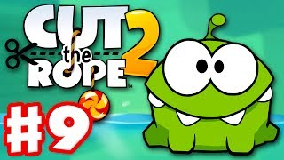 Cut the Rope 2 - Gameplay Walkthrough Part 9 - Underground! 3 Stars! (iOS, Android)