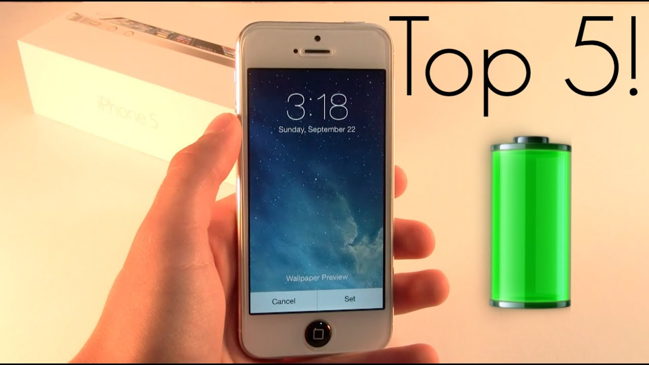 save battery on iphone 5s top 5 ways to save battery on ios 7 iphone 5s 1563