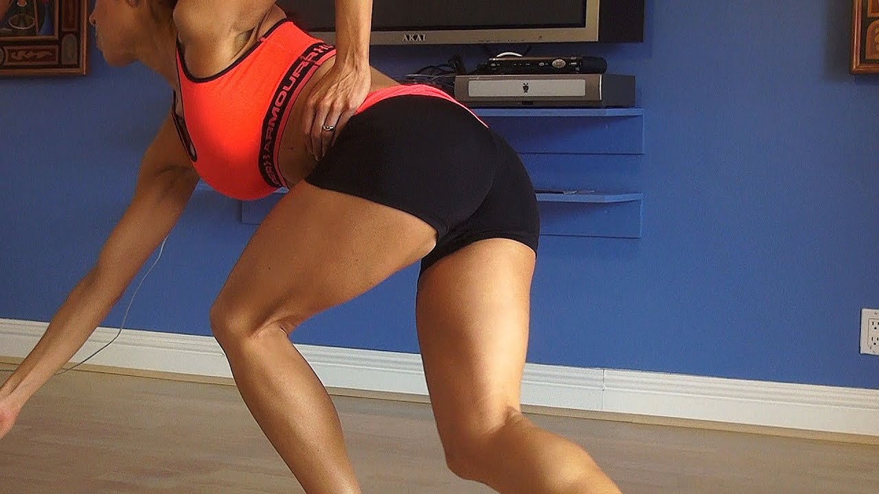 best intense home leg and butt workout!! - youtube