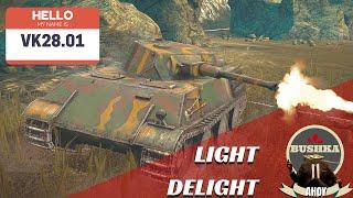 World of Tanks Blitz VK28.01 Tier 6 LIght Domination YES PLEASE