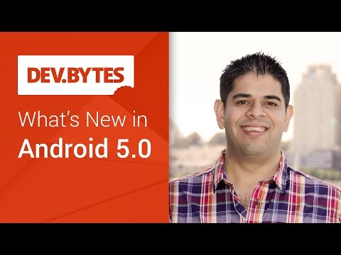 New Android 5.0 Lollipop features, according to Android DevBytes video