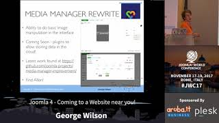 Joomla 4 - Coming to a Website near YOU! - George Wilson thumbnail