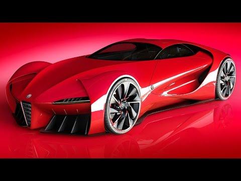 Alfa Romeo 6c DiscoVolante Concept