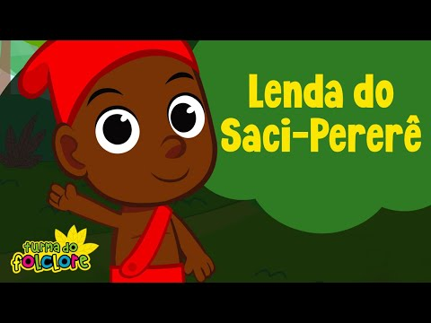 Lenda do Saci Pererê: Turma do Folclore