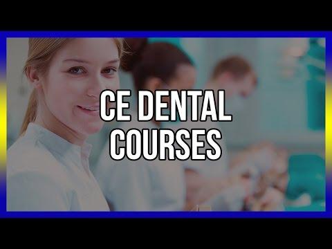 CE Dental Courses - Get Free Access Below