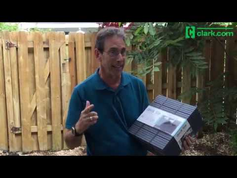 Clark Cam: DIY Patio Floor