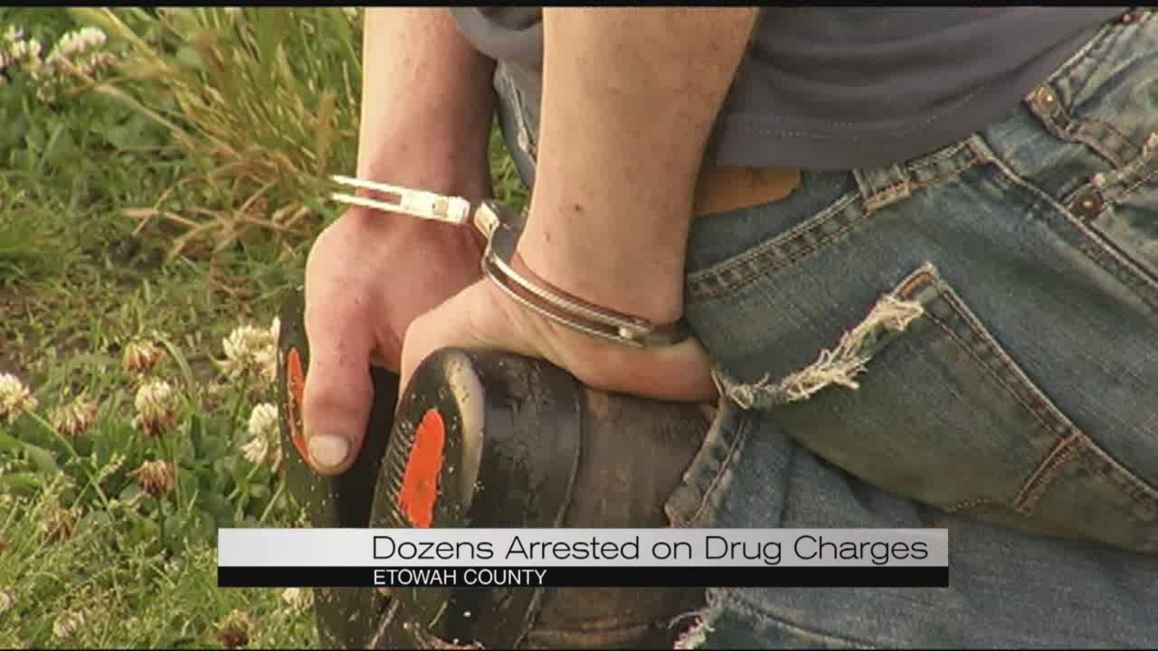Etowah County authorities conduct drug roundup Wednesday