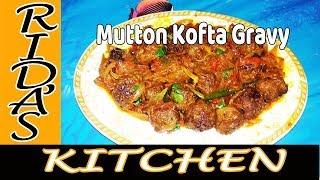 Tasty mutton kofta with  gravy | gola urundai gravy| kofta gravy