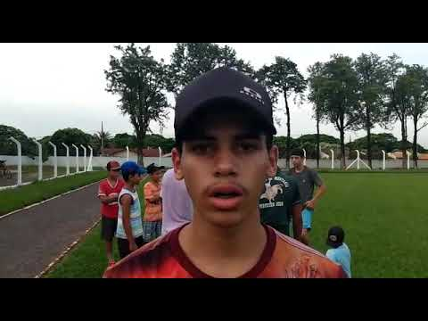 Um jovem de 15 de Iporã PR veio para são Jorge do patrocínio PR enbusca de realizar seu sonho