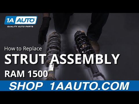 How to Replace Strut Assembly 09-18 RAM 1500