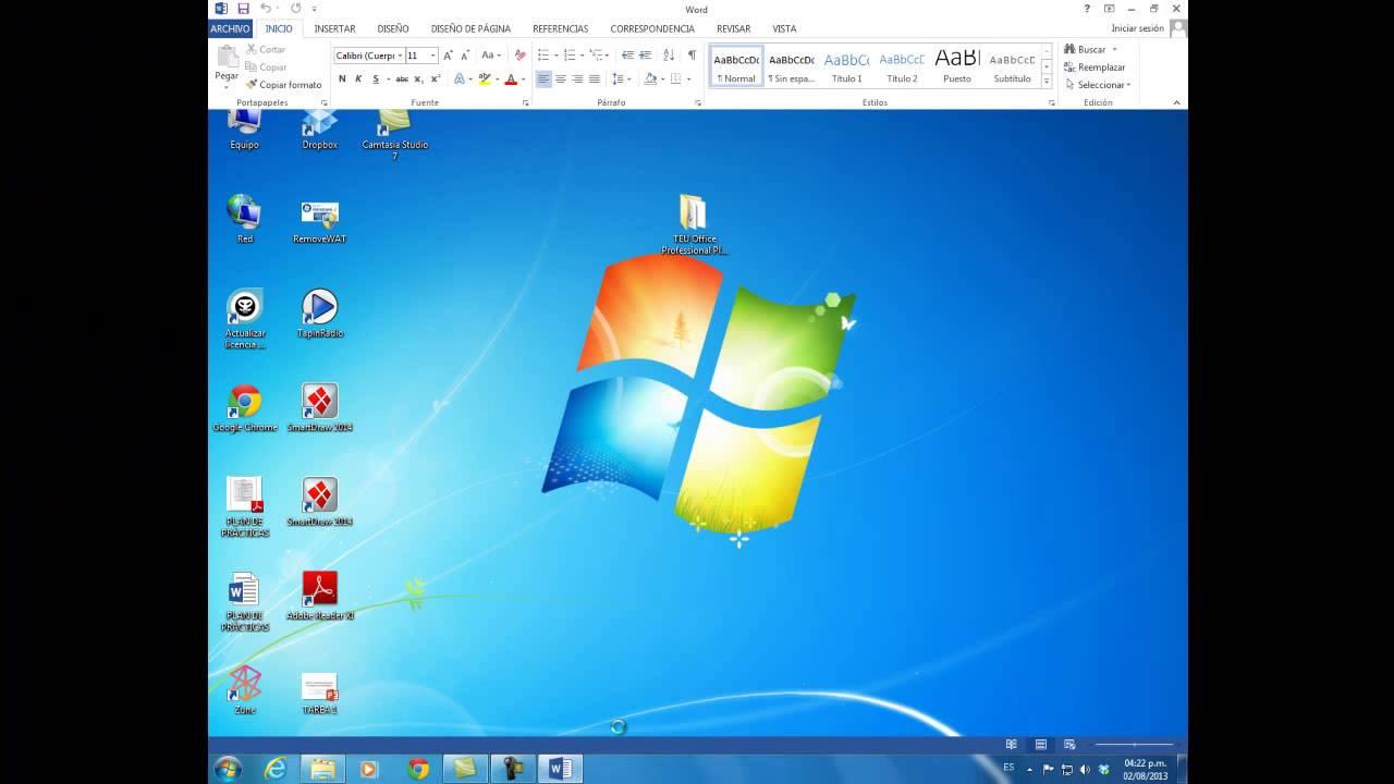 Descargar e instalar teu office professional plus 2013 vl