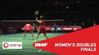Download Video F | WD | FUKUSHIMA/HIROTA (JPN) [1] vs CHEN/JIA (CHN) [3] | BWF 2018 MP3 3GP MP4