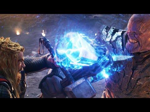 Мстители против Таноса (Часть 3) Финальная битва | Мстители: Финал (2019)
