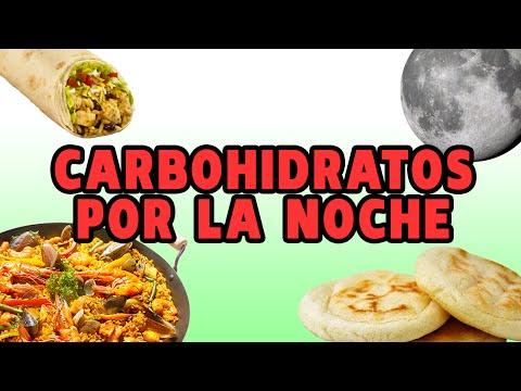 ¿PROHIBIDO COMER CARBOHIDRATOS DE NOCHE?