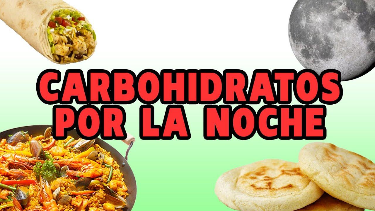 ¿por qué no es bueno comer carbohidratos por la noche?