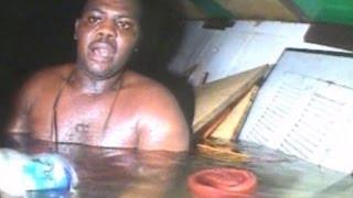Moment divers find man alive in sunken ship off Nigerian coast